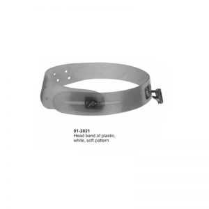 Head Mirror Band Of Plastic White Soft Pattern