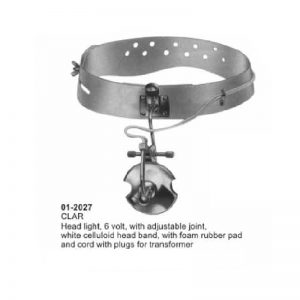 CLAR Head Light With Foam Rubber Pad