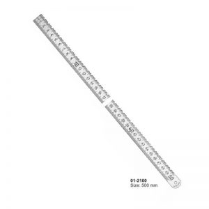 Stainless Steel Ruler Size 500 mm
