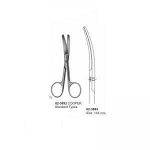 COOPER Surgical Operating Scissors Blunt-Blunt Curved 145 mm