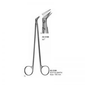 Potts-Smith Vessel Scissor 60 Degree
