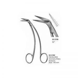 Favoloro Coronary Artery Scissor 140 mm