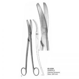 Siebold Uterine Scissors 245 mm