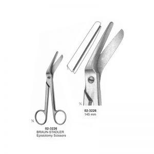 Braun-Stadler Episiotomy Scissors 145 mm