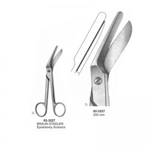Braun-Stadler Episiotomy Scissor 200 mm