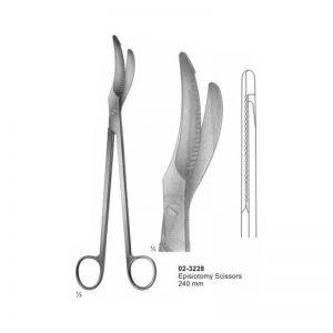 Episiotomy Scissors For Obstetrics 240 mm