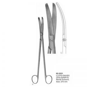 Lloyd-Davies(Goligher's) Rectal Scissor 270 mm