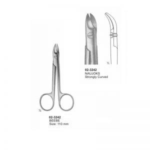 Beebe Naujoks Strongly Curved Scissor