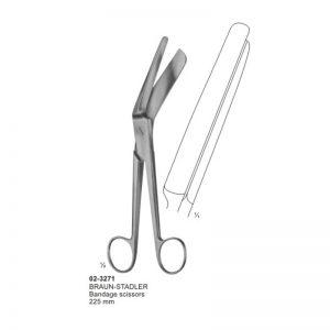 Braun-Stadler Bandage Scissor 225 mm