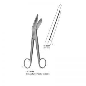 Esmarch Plaster Scissors 230 mm