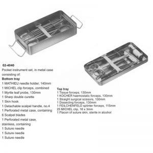 Pocket Instruments Set 46 Pieces
