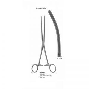 Doyen Atraumata Intestinal Curved Clamp 230 mm