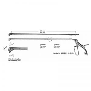 Biopsy Forceps For Rectum 400 mm