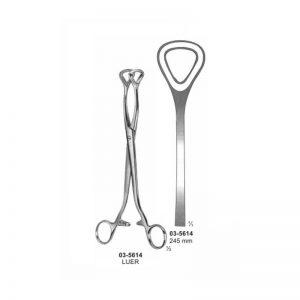 Luer Haemorrhoidal Forceps 245 mm