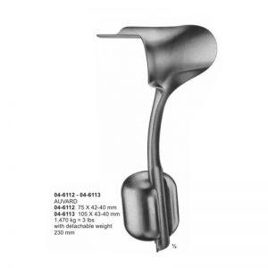 Auvard Vaginal And Wound Retractors 230 mm Detachable
